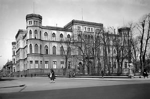 Munich Gestapo HQ at the Wittelsbach Palais